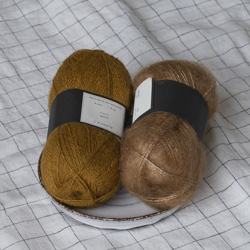 Klein Pullover (hand) - inspiraatiota värivalintoihin