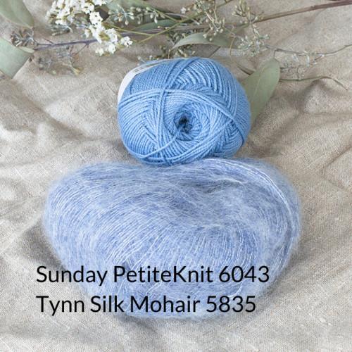 SUNDAY loves Tynn Silk Mohair