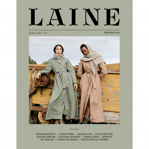 Laine Magazine Issue 10 - Rooted Englanti
