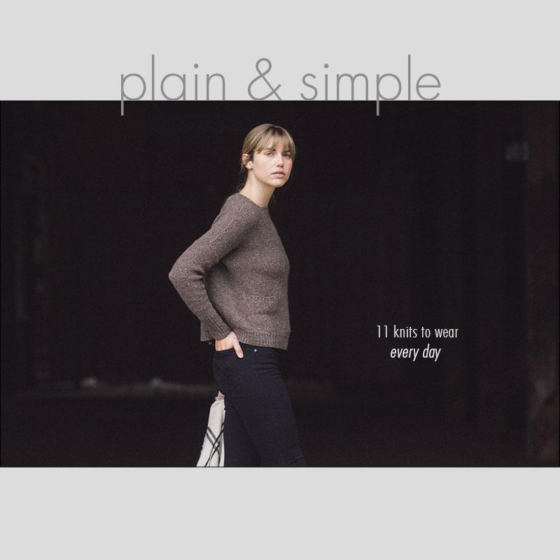 Plain and Simple: 11 Knits to Wear Everyday, Pam Allen