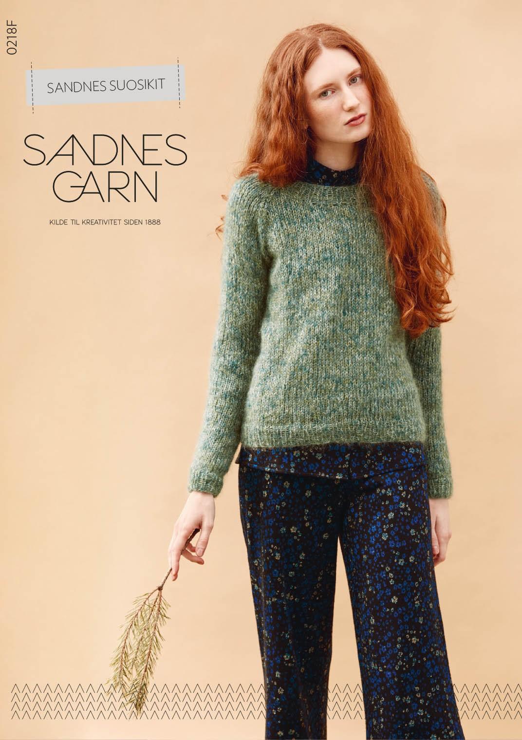 0218F Sandnes Garn suosikit -ohjevihko FI