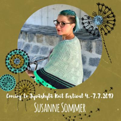 Pe 5.7.19 klo 14-17 SUSANNE SOMMER: Sideways Sweater Recipe