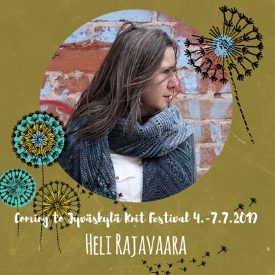La 6.7.19 klo 10-13 HELI RAJAVAARA: Technical Editing of Knitwear Patterns