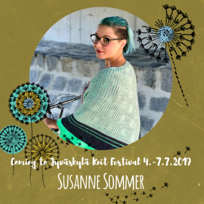 Su 7.7.19 klo 10-13 SUSANNE SOMMER: Sideways Sweater Recipe