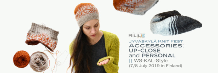 Su 7.7.19 klo 10-13 RILILIE: Accessories: Up close and Personal
