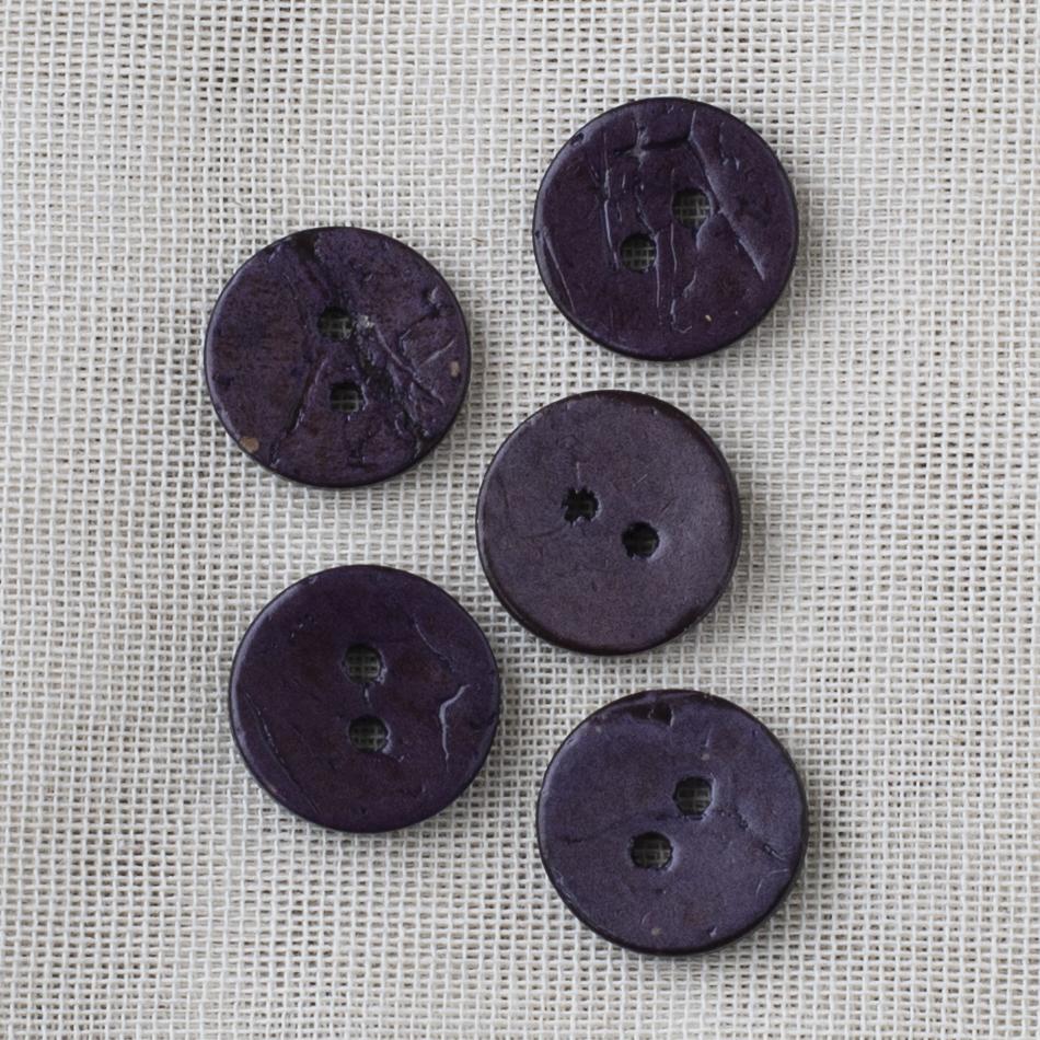 Kookosnappi 18mm 11 violetti