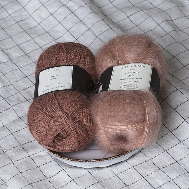 Klein Pullover (hand) - color inspiration