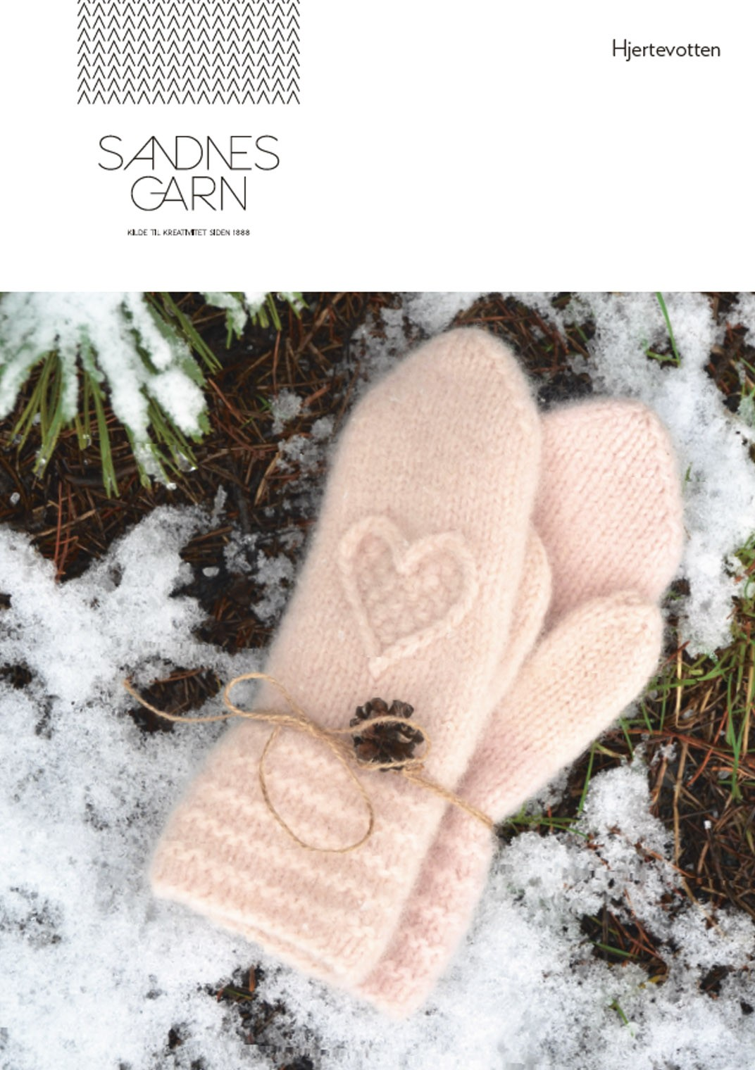 Heart Mittens - Finnish pattern and yarns