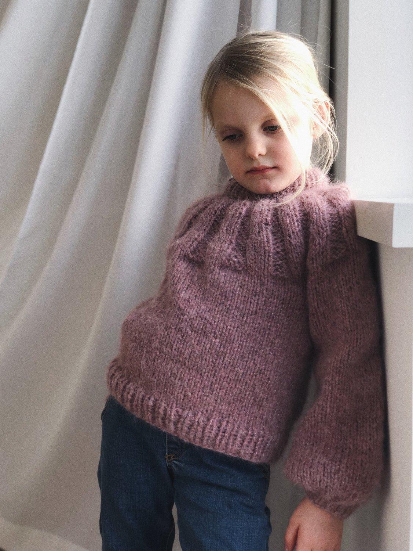 Sunday Sweater JUNIOR by PetiteKnit -neuleohje EN