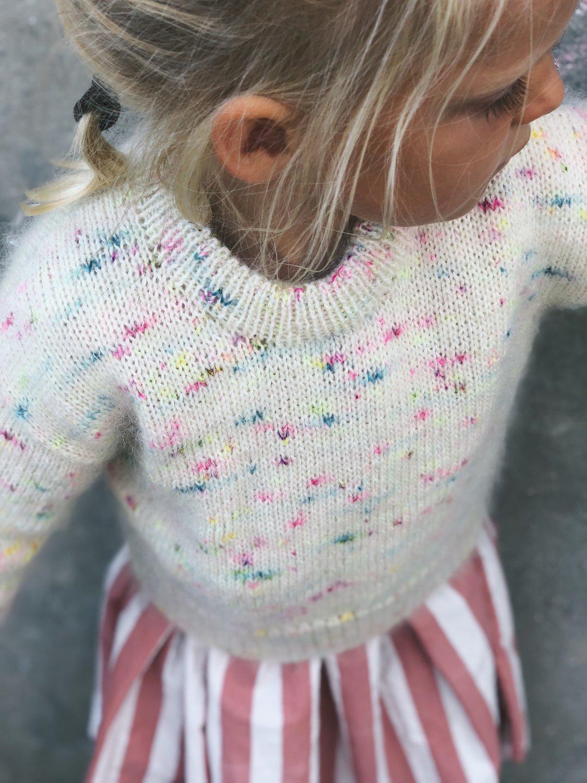 Stockholm Sweater JUNIOR by PetiteKnit -neuleohje EN