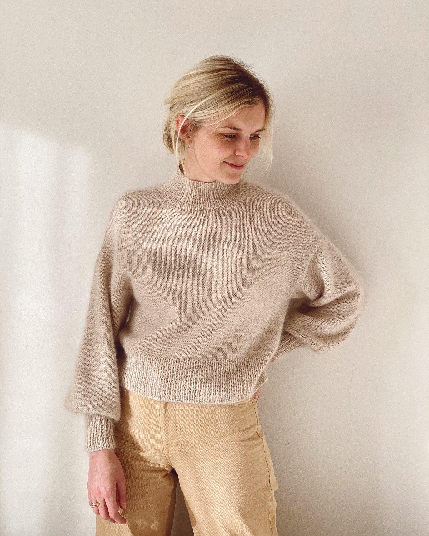 Balloon Sweater by PetiteKnit pattern English