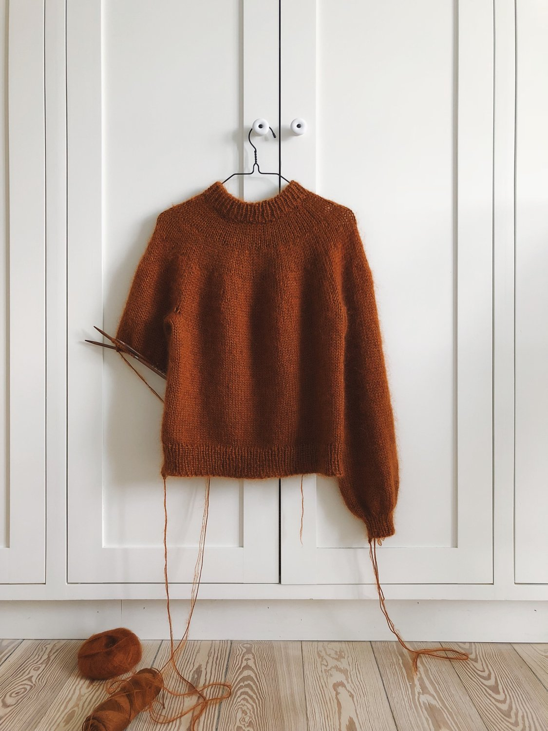 Novice Sweater by PetiteKnit pattern English