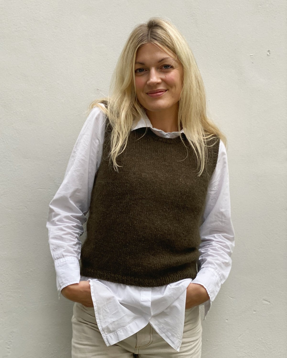 Stockholm Slipover by PetiteKnit pattern English