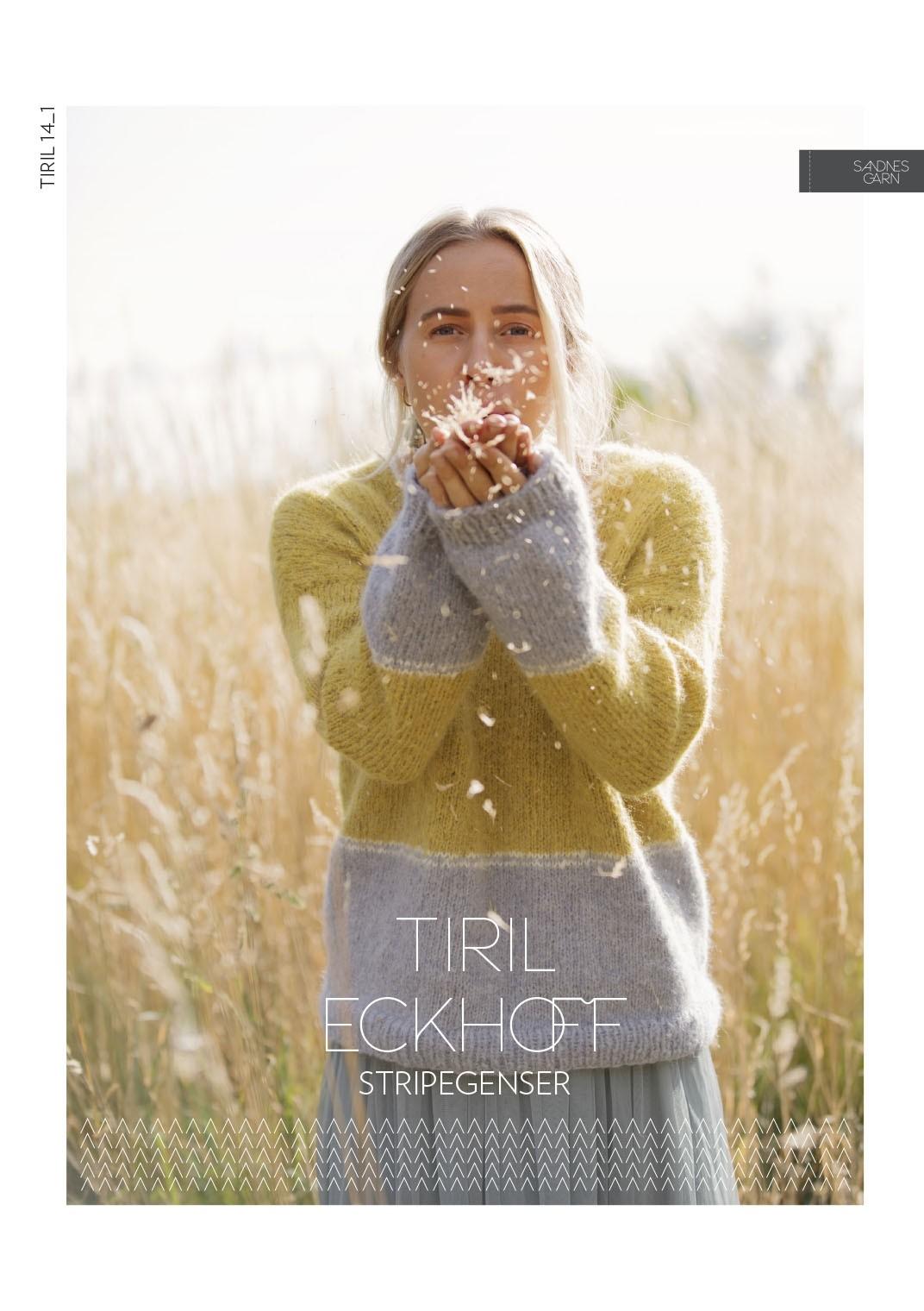 TIRIL 14_1 Tirilgensere med striper Pattern Norwegian