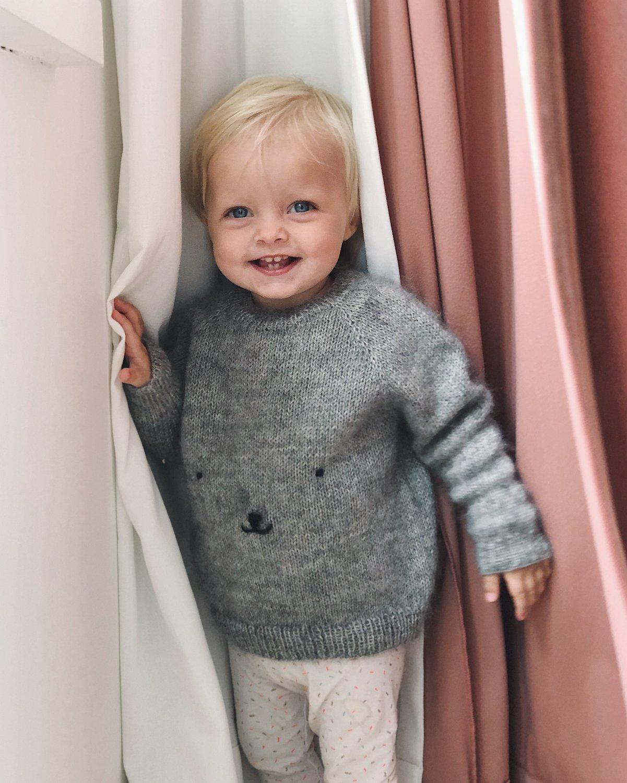Teddy Bear Sweater by PetiteKnit -neuleohje EN