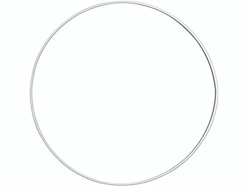 Valkoinen metallirengas