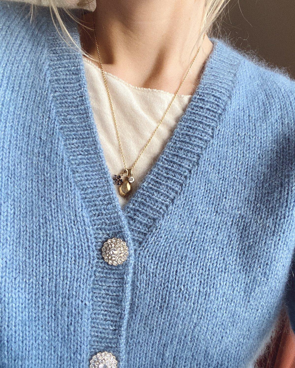 April Cardigan by PetiteKnit pattern English