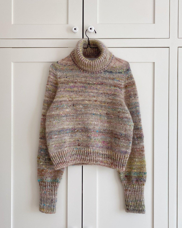Terrazzo Sweater by PetiteKnit -neuleohje EN
