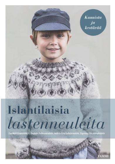 Islantilaisia lastenneuleita FINNISH book