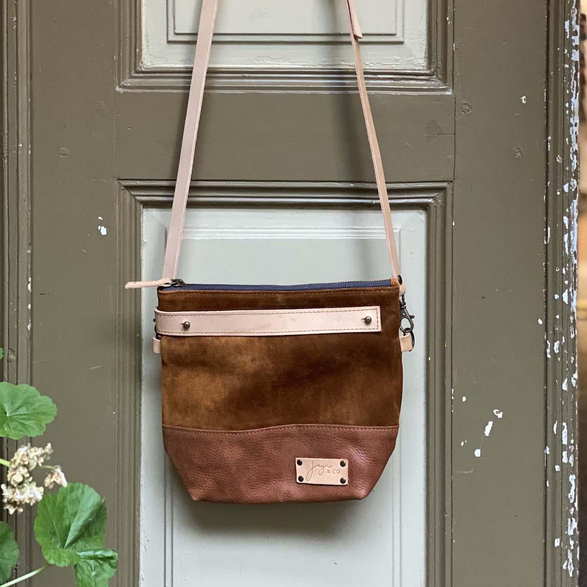 Joji & Co. BA Crossbody Bag Brown