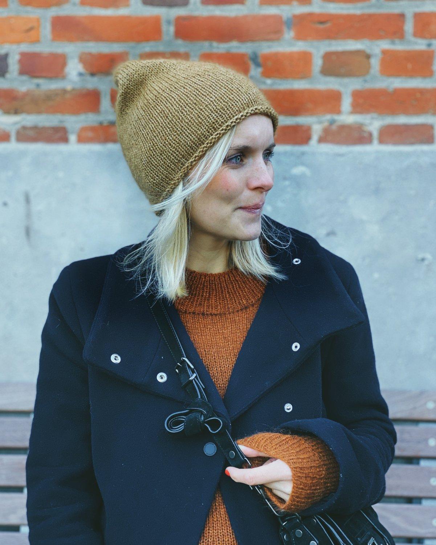 Baggy Hat by PetiteKnit pattern English