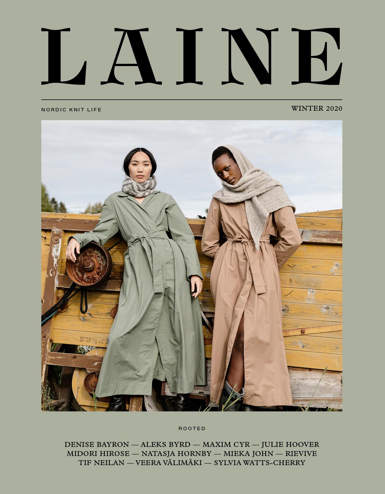 Laine Magazine Issue 10 - Rooted Englanti
