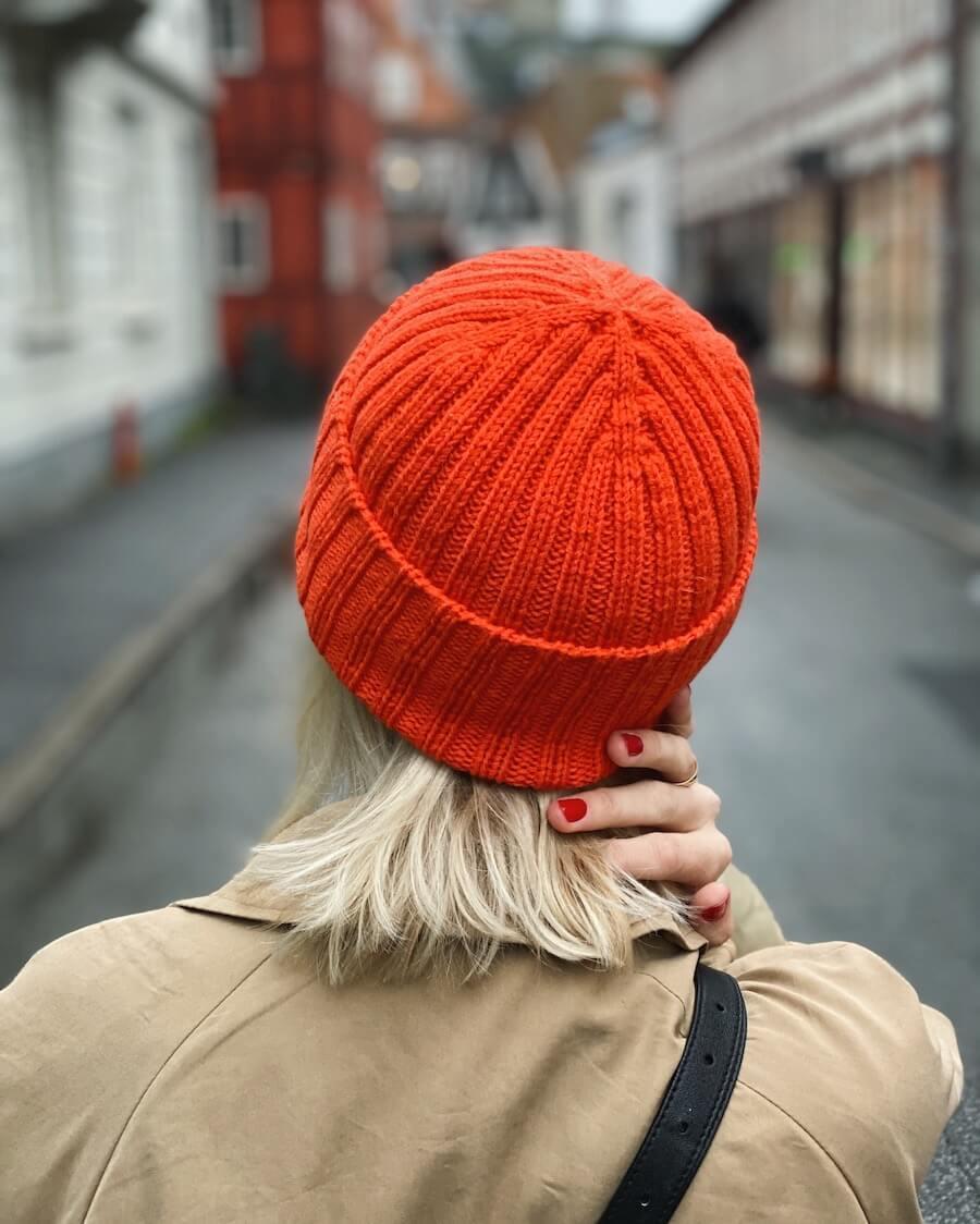 Hipster Hat by PetiteKnit pattern English