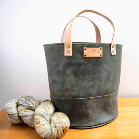 Joji & Co. PAMPA Bucket Bag Gray