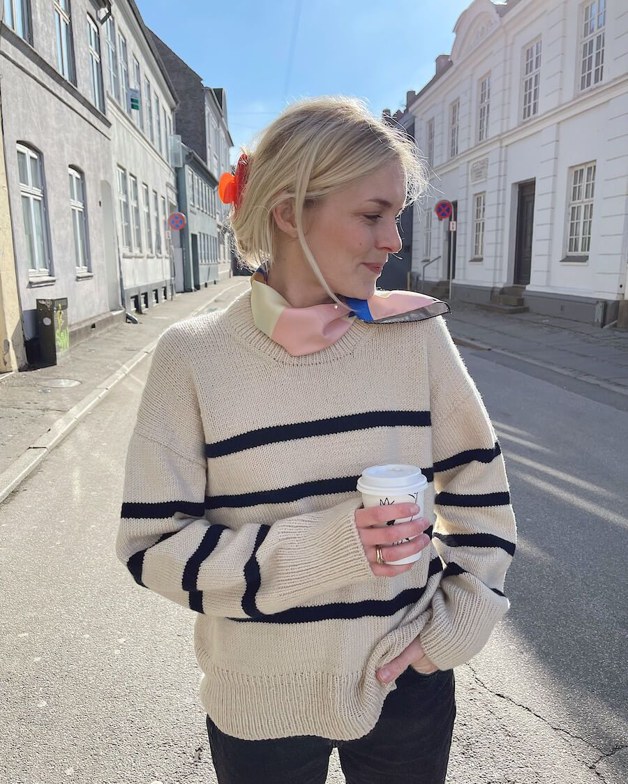 Marseille Sweater by PetiteKnit -neuleohje EN