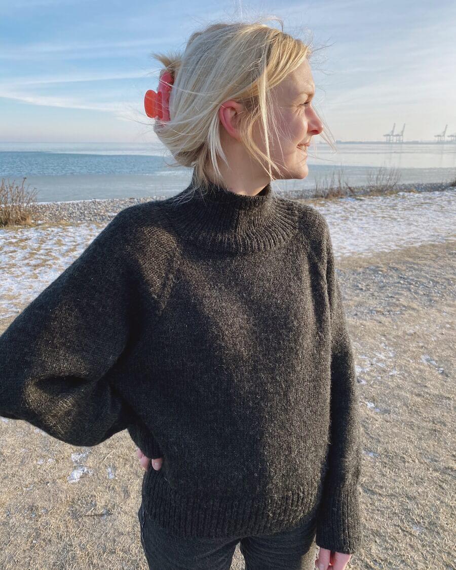 Louvre Sweater by PetiteKnit -neuleohje EN