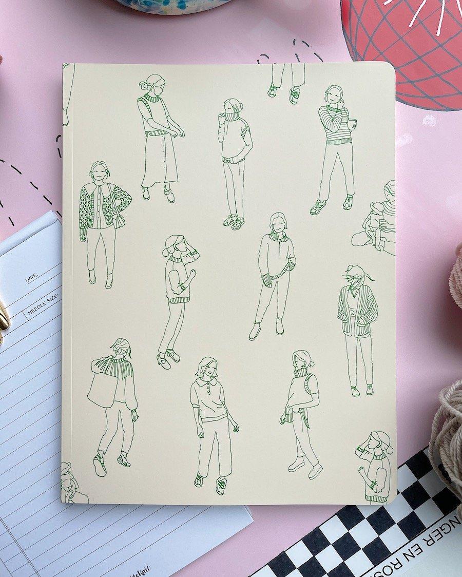 "PetiteKnit ""Knitting Journal - Grand Signatur"""
