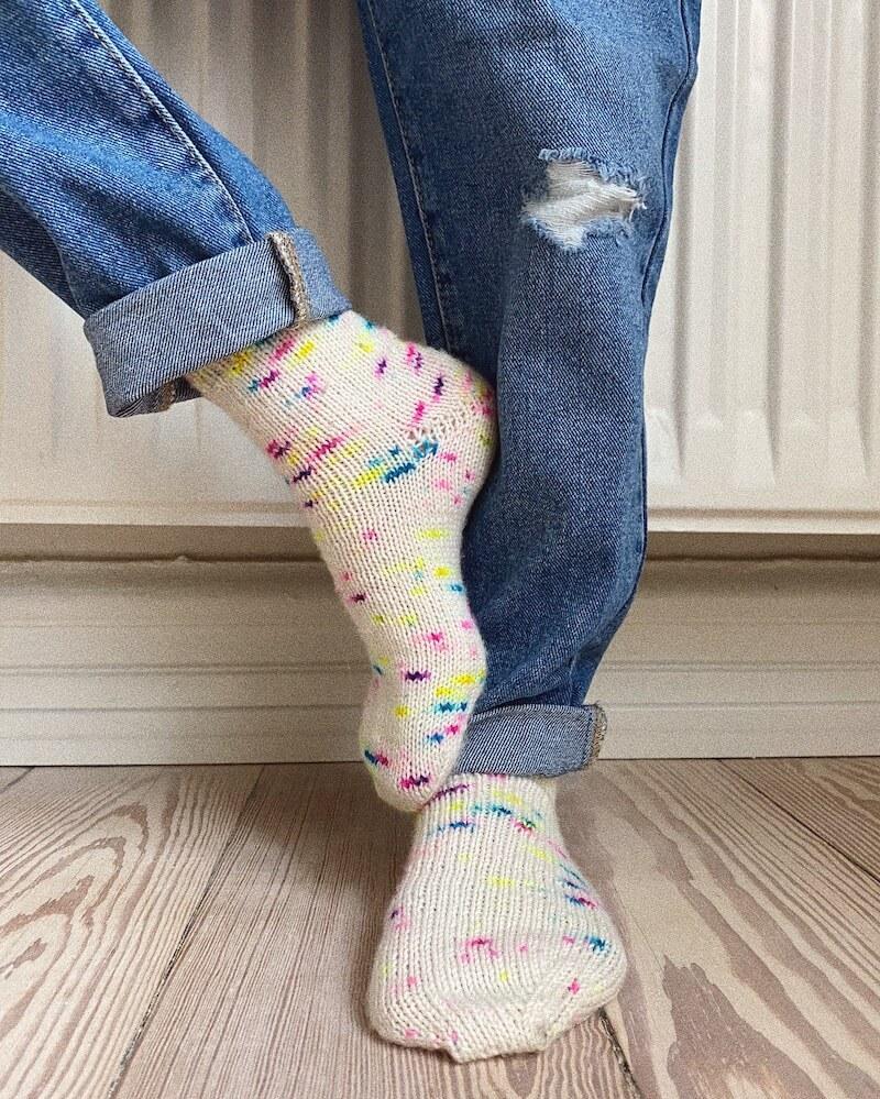 Everyday Socks Junior by PetiteKnit pattern English