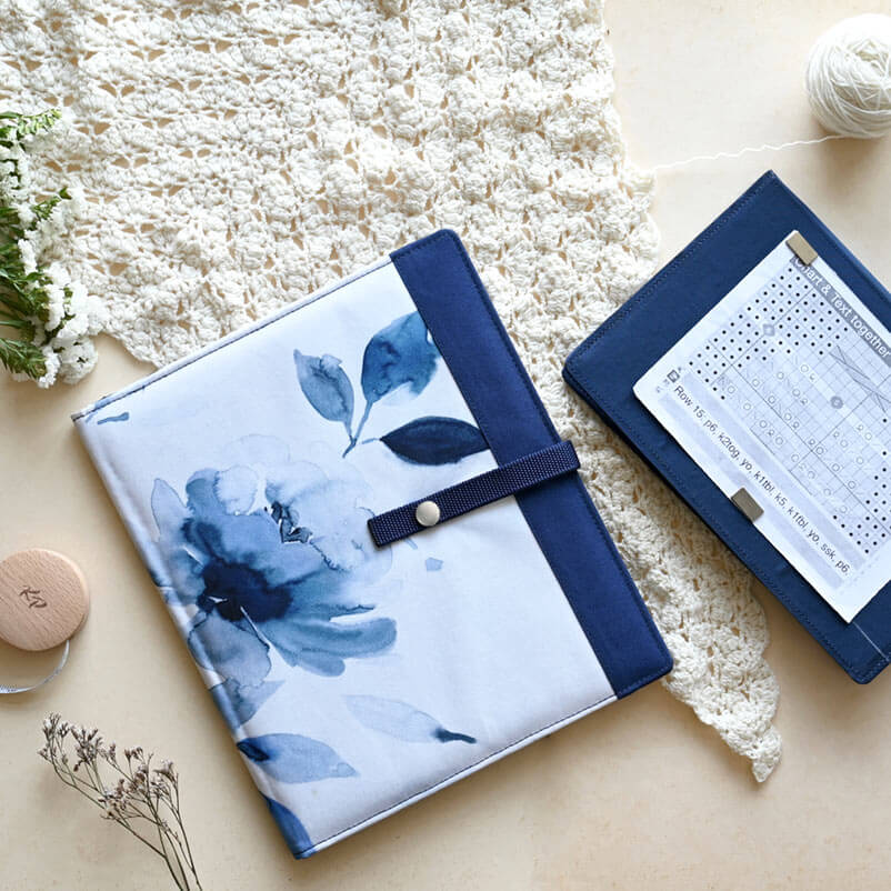 Knitting Chart Keeper Blossom Large
