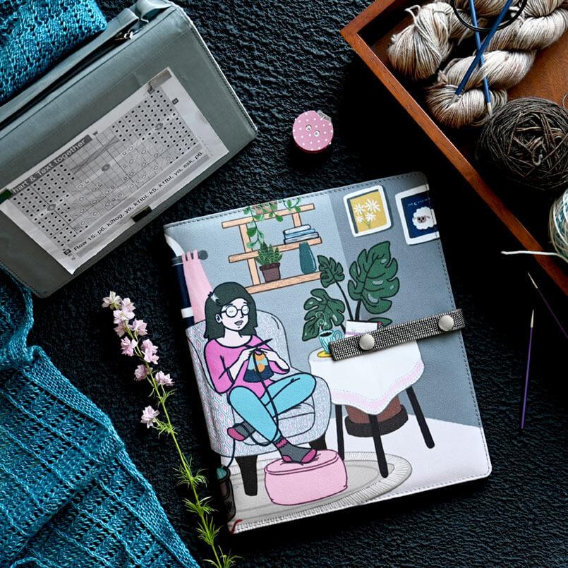 Knitting Chart Keeper Passion Large