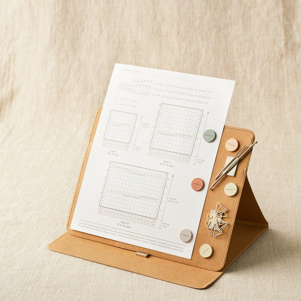 Cocoknits Maker's Board Kit - Ohjekansio Kraft