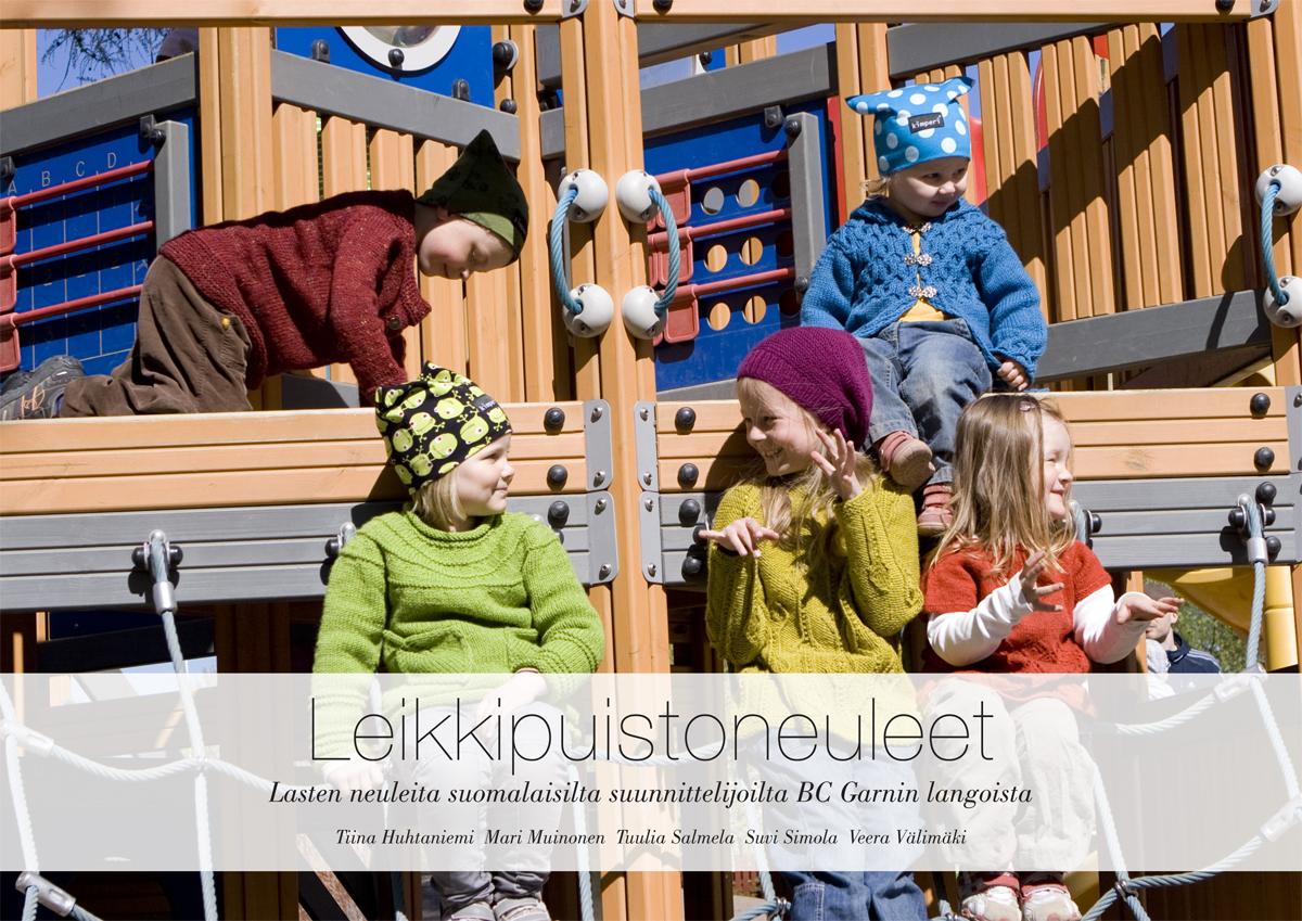 Leikkipuistoneuleet, painettu suomi