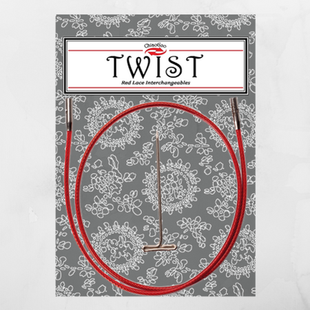 ChiaoGoo Twist Red Cable Small