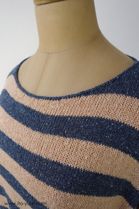 FUJI Top English Knitting Pattern PDF