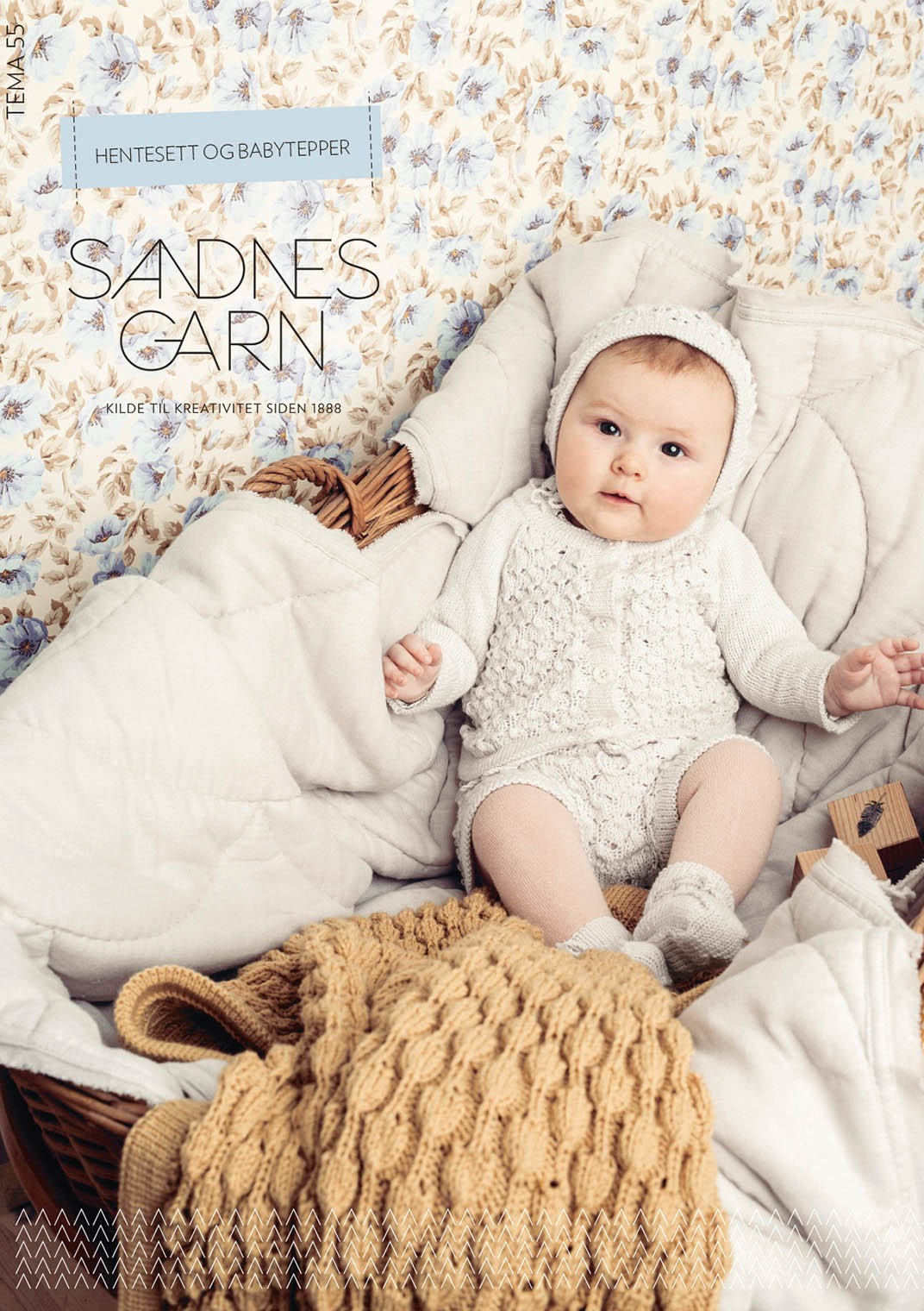 Tema 55 Hentesett og Babytepper Booklet in Norwegian