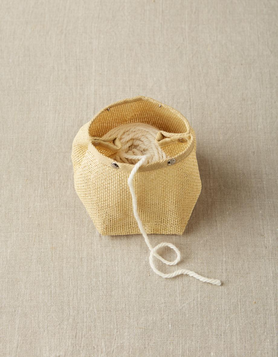 Cocoknits Natural Mesh Bag - Projektipussi