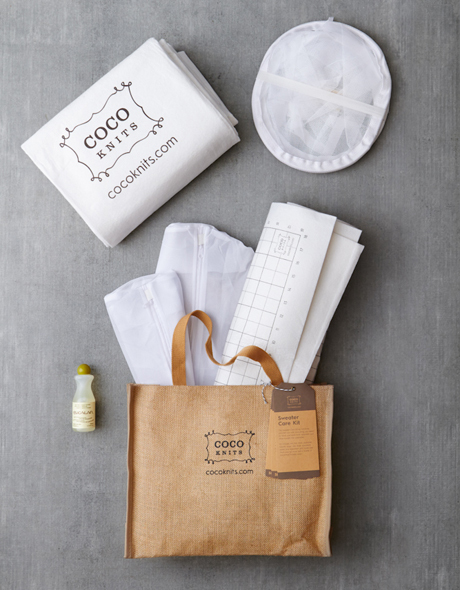 Cocoknits Sweater Care Kit - Pingotussetti puseroille