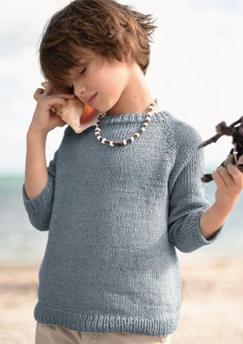 Kesäkuun ilmainen neuleohje  Raglan sweater