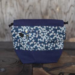 Nova Melina Neulepussi 3. Kukka sininen