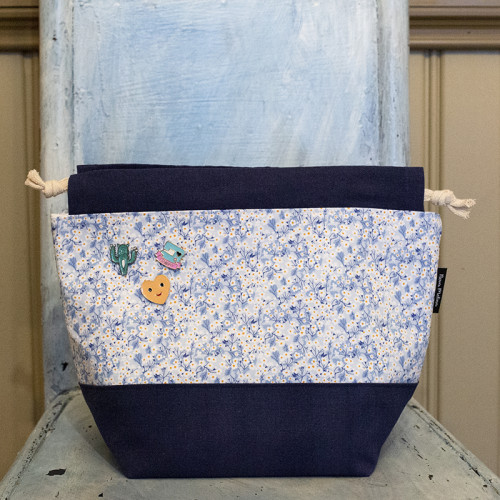 Nova Melina Knitting bag 5. Mitsi Valeria Blue