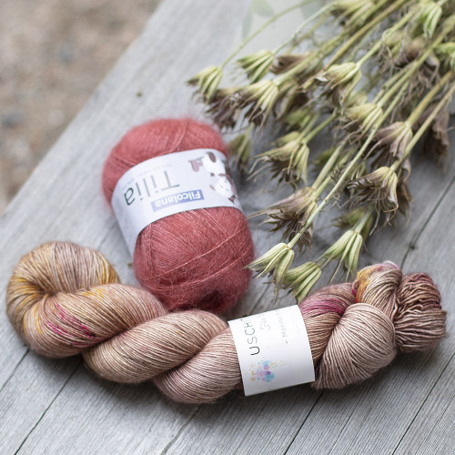Seashore Cowl Yarn Set 1
