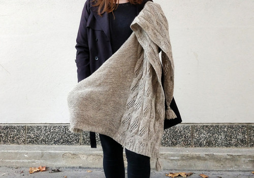 Laila huivikitti - Tukuwool Harmas
