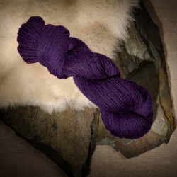 The Fibre Co. Cumbria Fingering purple moor grass