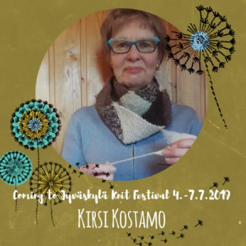 Thu July 4, 14-17 KIRSI KOSTAMO: Värttinäkehruun alkeet (FI)
