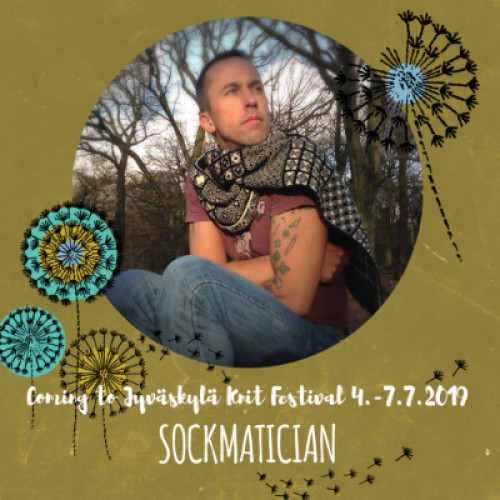 Fri July 5, 14-17 NATHAN TAYLOR: Demystifying Double-Knitting
