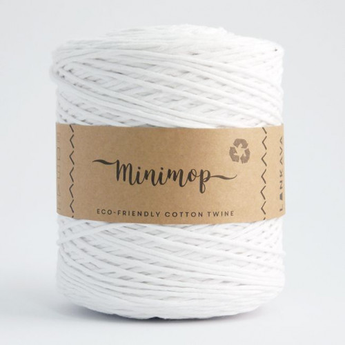 Minimop yarn 51 white